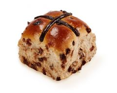 Choc Chip Hot Cross Buns