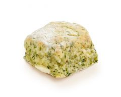 Spinach Feta and Pesto Scone