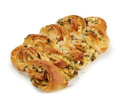 Spinach and Feta Twisted Delight